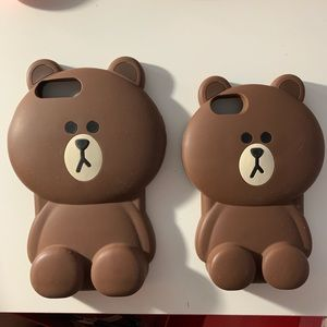 iPhone 7 & iPhone 7 MAX Line Friends Phone Case
